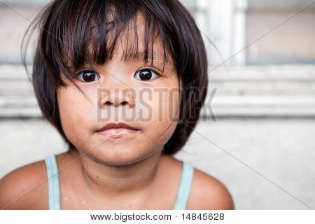 Philippines - Portrait Of A Young Girl