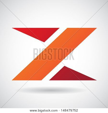 Design Concept of a Colorful Stock Icon of Letter Z, Illustration