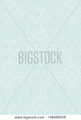 Light Blue Vintage Pattern Textured Background