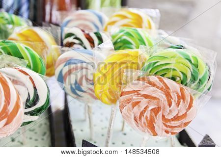 Lollipop Colors Craft