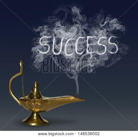 Aladdin's Magic Lamp genie fantasy luck fairy tale