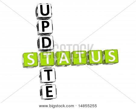 Update Status Crossword