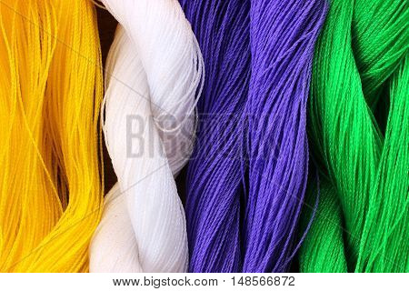 Colorful nylon rope for bind any object.