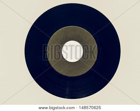 Vintage Looking Vinyl Record 45 Rpm