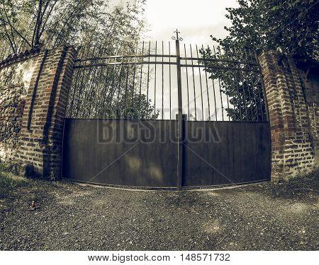 Vintage Looking Old Gate