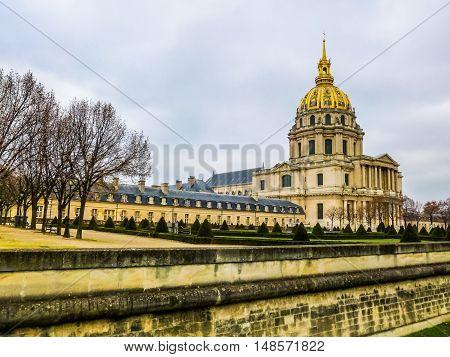Hdr Hotel Des Invalides Paris
