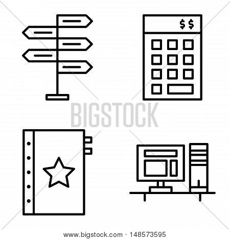 Set Of Project Management Icons On Decision Making, Investment And Quality Management. Project Manag