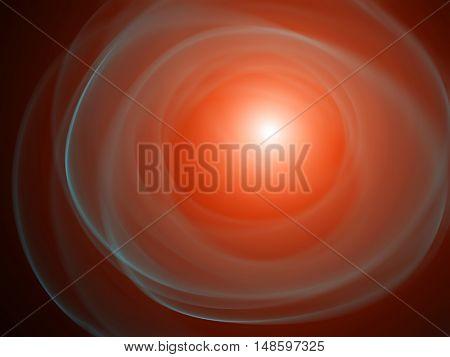 explosion of a supernova