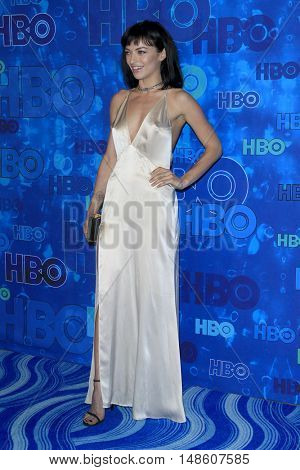 LOS ANGELES - SEP 18:  Francesca Eastwood at the 2016  HBO Emmy After Party at the Pacific Design Center on September 18, 2016 in West Hollywood, CA