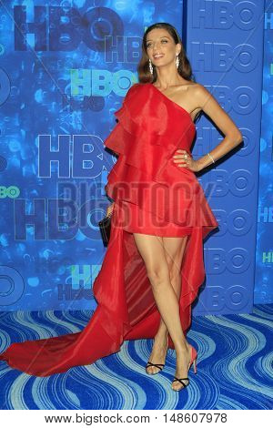 LOS ANGELES - SEP 18:  Angela Sarafyan at the 2016  HBO Emmy After Party at the Pacific Design Center on September 18, 2016 in West Hollywood, CA