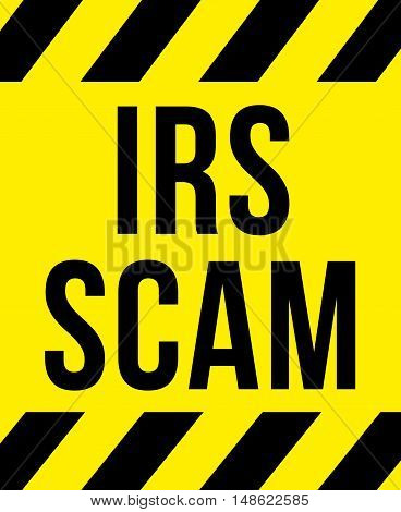 Irs Scam Sign