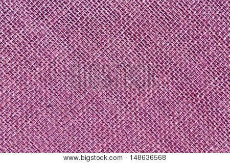Purple Sack Cloth Texture.