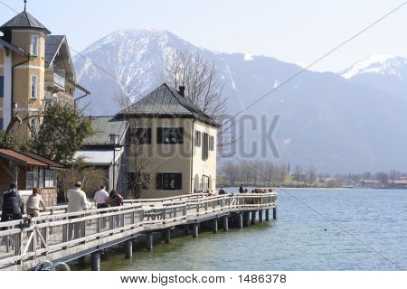 Moorage In The Alps