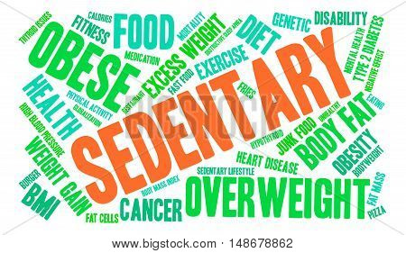 Sedentary Word Cloud