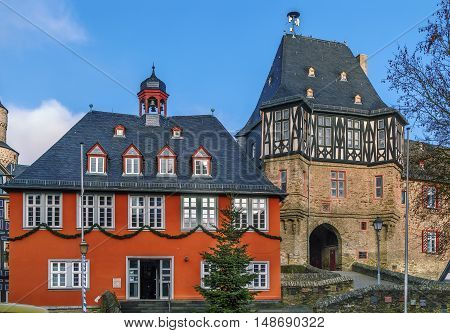 Town Hall (Rathaus) from 1698 in Idstein Germany