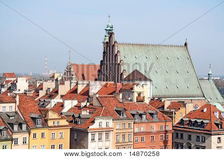 View of old Warsaw