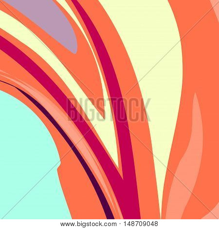 Artistic bright multicolor wave energy background. Can be used for brochures, flyers, as web site background etc.