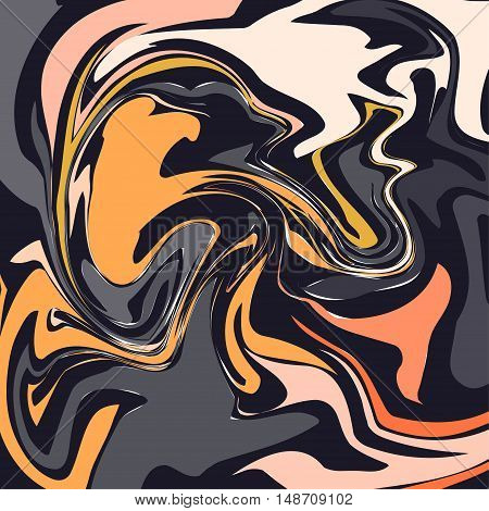 Artistic bright yellow and orange energy background. Can be used for brochures, flyers, as web site background etc.