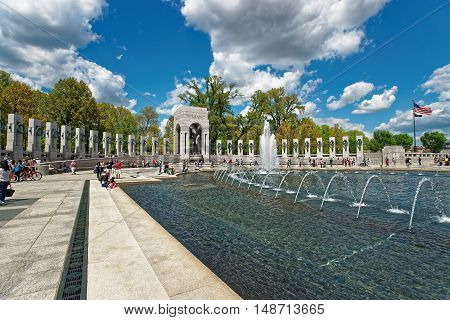 National World War Ii Memorial In Washington