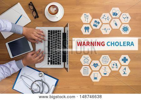 Warning Cholera
