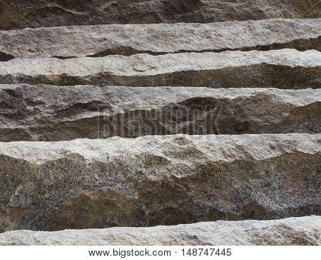 Background of granite blocks. old granite stones