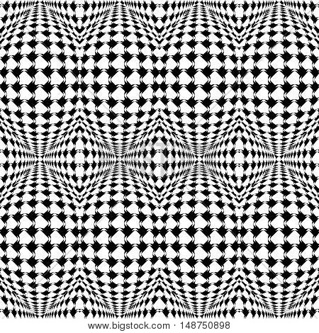 Design Seamless Warped Geometric Pattern