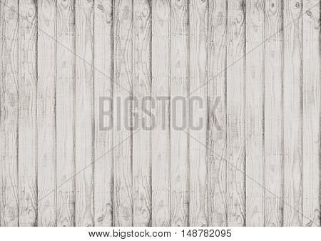 White Wooden Textured Woodgrain Background;