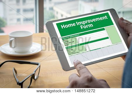 Home Improvement Form Personnel Details Home
