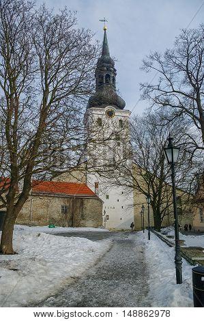 Dome Church (Cathedral of Saint Mary the Virgin). Tallinn Estonia.