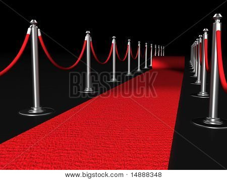 Red Carpet Night Conept