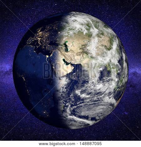 Planet Earth. Elements of this image furnished by NASA.