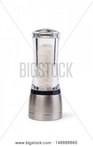 salt grinders isolated on white