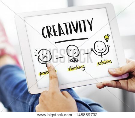 Creativity Thinking Brainstorm People Concept