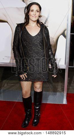 """Ricki Lake at the World Premiere of """"Walk Hard"""" held at the Grauman's Chinese Theater in Hollywood, USA on December 12, 2007."""
