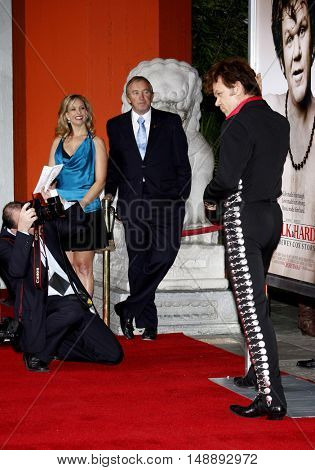 """John C. Reilly at the World Premiere of """"Walk Hard"""" held at the Grauman's Chinese Theater in Hollywood, USA on December 12, 2007."""