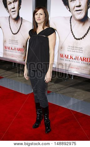 """Molly Shannon at the World Premiere of """"Walk Hard"""" held at the Grauman's Chinese Theater in Hollywood, USA on December 12, 2007."""