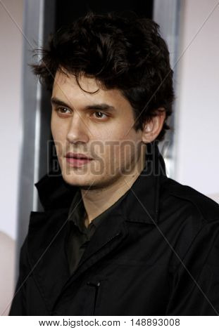 "John Mayer at the World Premiere of ""Walk Hard"" held at the Grauman's Chinese Theater in Hollywood, USA on December 12, 2007."