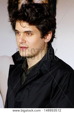 John Mayer at the World premiere of 'Walk Hard' held at the Grauman's Chinese Theater in Hollywood, USA on December 12, 2007.
