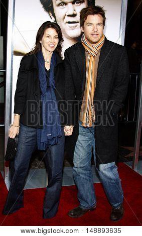 Amanda Anka and Jason Bateman at the World premiere of 'Walk Hard' held at the Grauman's Chinese Theater in Hollywood, USA on December 12, 2007.