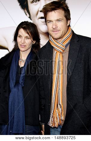 Jason Bateman and Amanda Anka at the World premiere of 'Walk Hard' held at the Grauman's Chinese Theater in Hollywood, USA on December 12, 2007.
