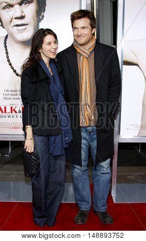 Jason Bateman and Amanda Anka at the World premiere of 'Walk Hard' held at the Grauman's Chinese Theater in Hollywood, USA on December 12, 2007.