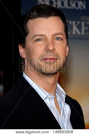 Sean Hayes at the World premiere of 'The Bucket List' held at the ArcLight Theaters in Hollywood, USA on December 16, 2007.