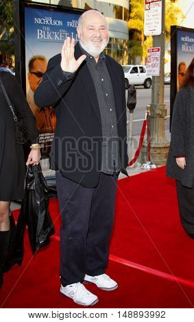 Rob Reiner at the World premiere of 'The Bucket List' held at the ArcLight Theaters in Hollywood, USA on December 16, 2007.