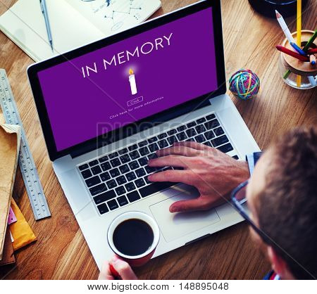In Memory Mind Recalling Remember Storage Concept