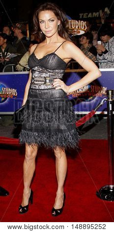 Cyia Batten at the World premiere of 'Charlie Wilson's War' held at the Universal Studios in Hollywood, USA on December 10, 2007.