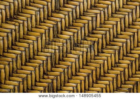 bamboo weave pattern. local tray made from bamboo weave