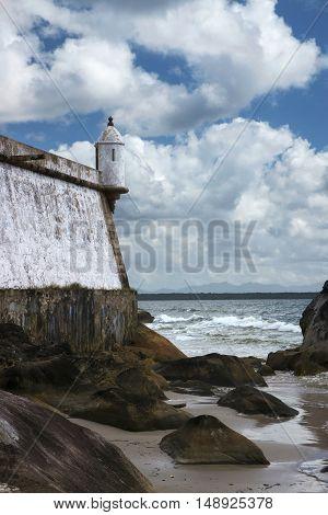 Fortress Nossa Senhora dos Prazeres at Ilha do Mel Paranagua Parana Brasil