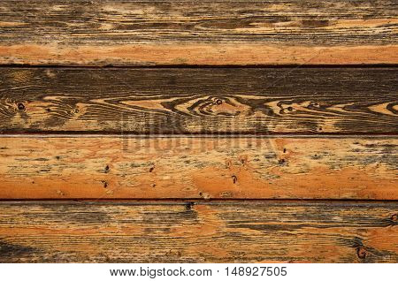 brown old panel wood texture with knot