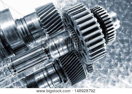 aerospace titanium gears and cogwheels