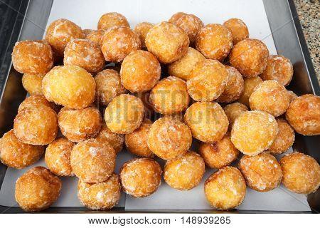 Quail candy eggs, Thai fried potato balls